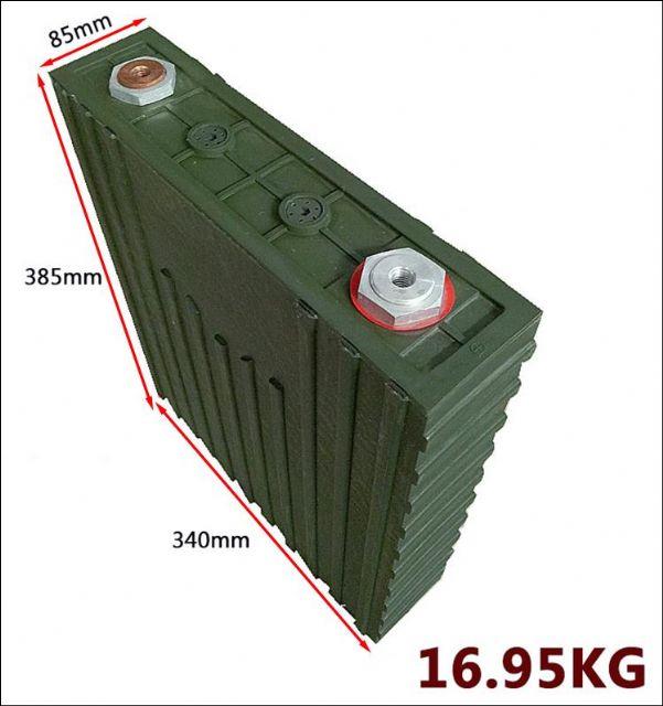 LFP500AH 3,2V 500AH lithium železo fosfátová baterie