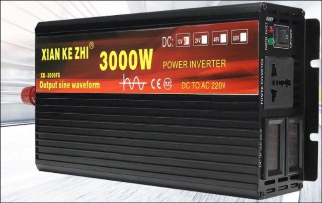 Mìniè napìtí 12V - 230V - 3000W