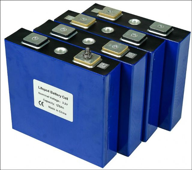 Lifepo4 120Ah 3,2V lithium železo fosfátová