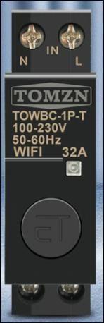 WIFI jistiè 32A na DIN lištu Smart Switch pro inteligentní domov