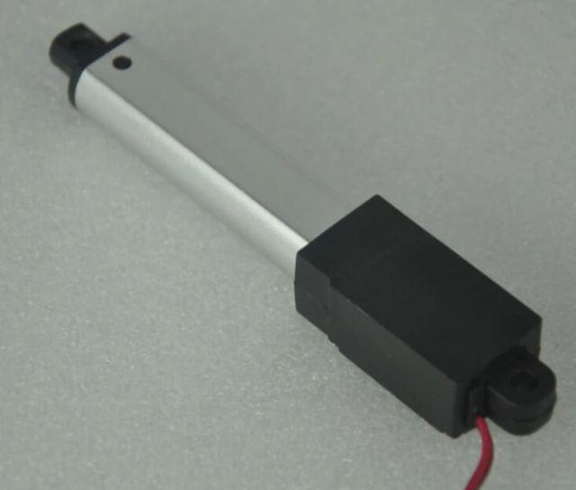 Mikro lineární elektrický pohon 12V rychlost posuvu 9mm-s 96N