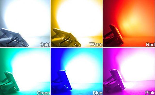 LED Light 50W RGB LED Dálkové ovládání AC 220V