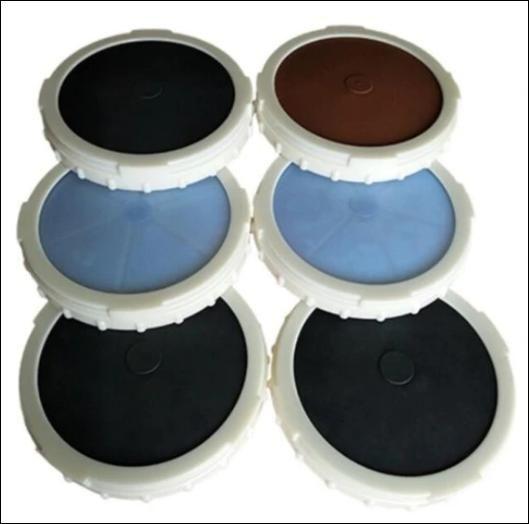 EPDM silikonový vzduchový difuzér s jemnými bublinkami pro RAS