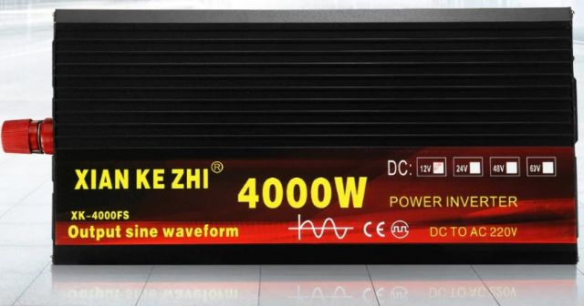 Mìniè napìtí 24V - 230V - 4000W