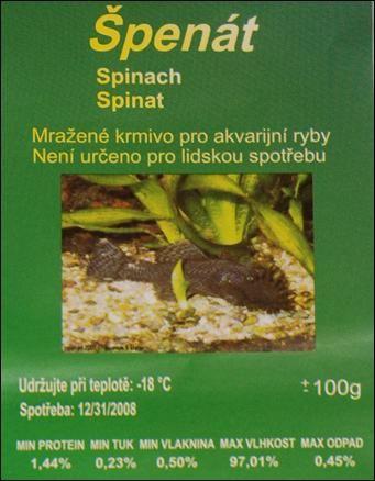 Špenát mražený
